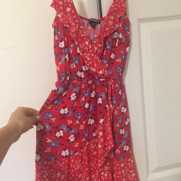 Express Dresses & Skirts - Express Red Sundress